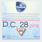 P.C. 28 PINK 20 TAVOLETTE